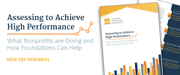 New CEP Research on Nonprofit Performance Assessment