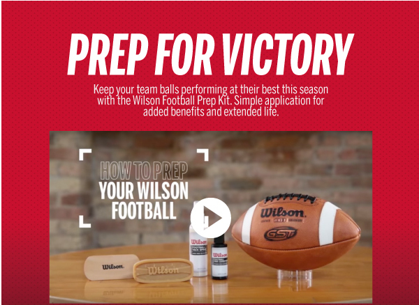 Gear Up On Pride This Season With Wilson