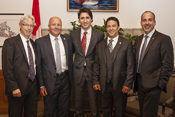 Forum for Growth - Trudeau meeting