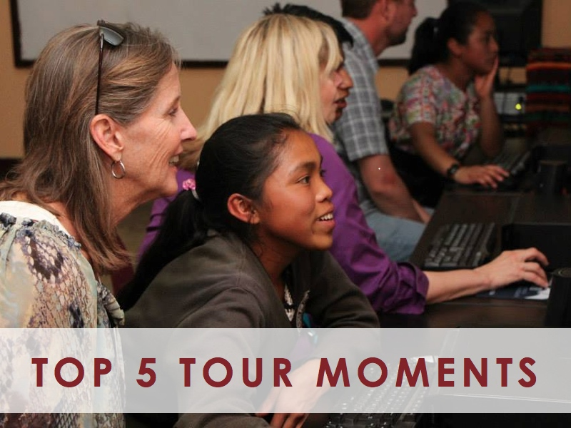 Top 5 Moments from the February Project Tours