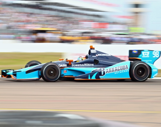 98 car at St Pete