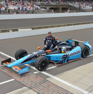 Tagliani at Indy