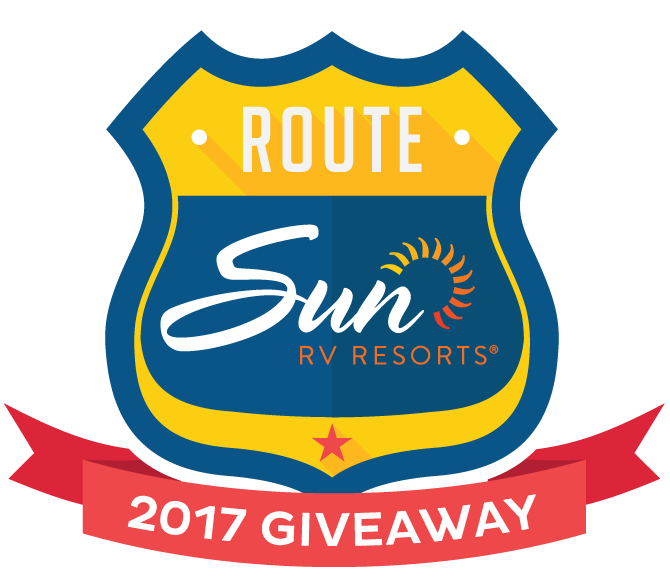 Route Sun RV Resorts | 2017 Giveaway