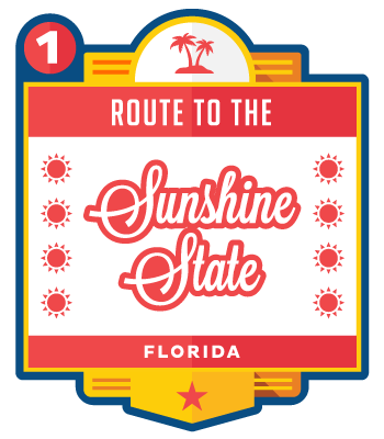 Route to the Sunshine State - Florida