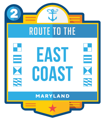 Route to the East Coast - Maryland