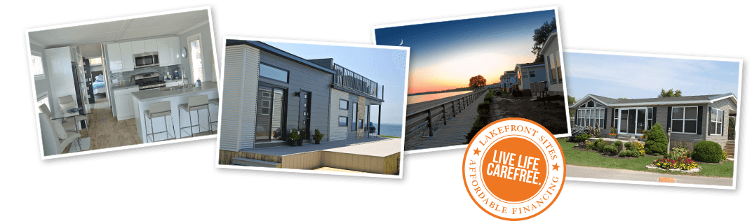 Lakefront Sites - Affordable Financing