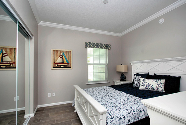Ocean Breeze Home Sale Seascape Model Bedroom View