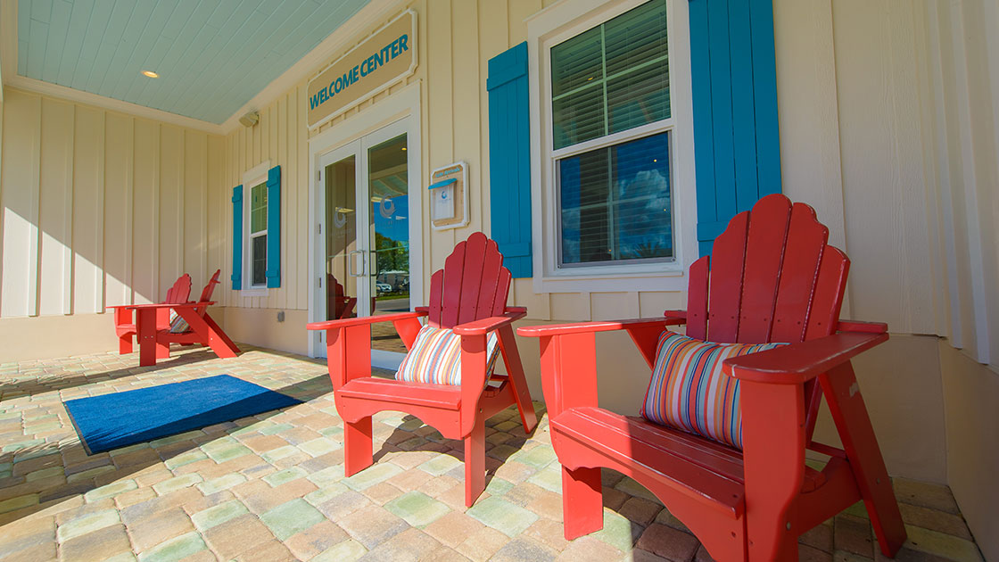 Ocean Breeze Adirondack Chairs