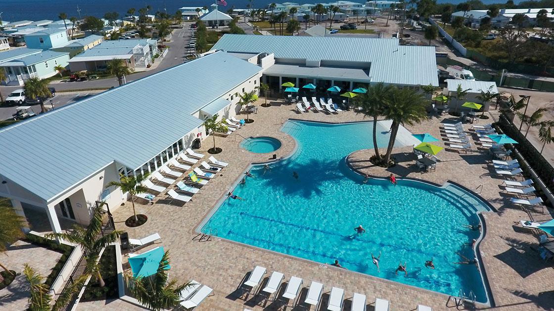 Ocean Breeze Swimming Pool View