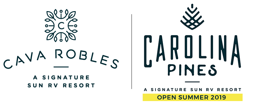 Cava Robles and Carolina Pines | A Signature Sun RV Resort | 2018 Giveaway!