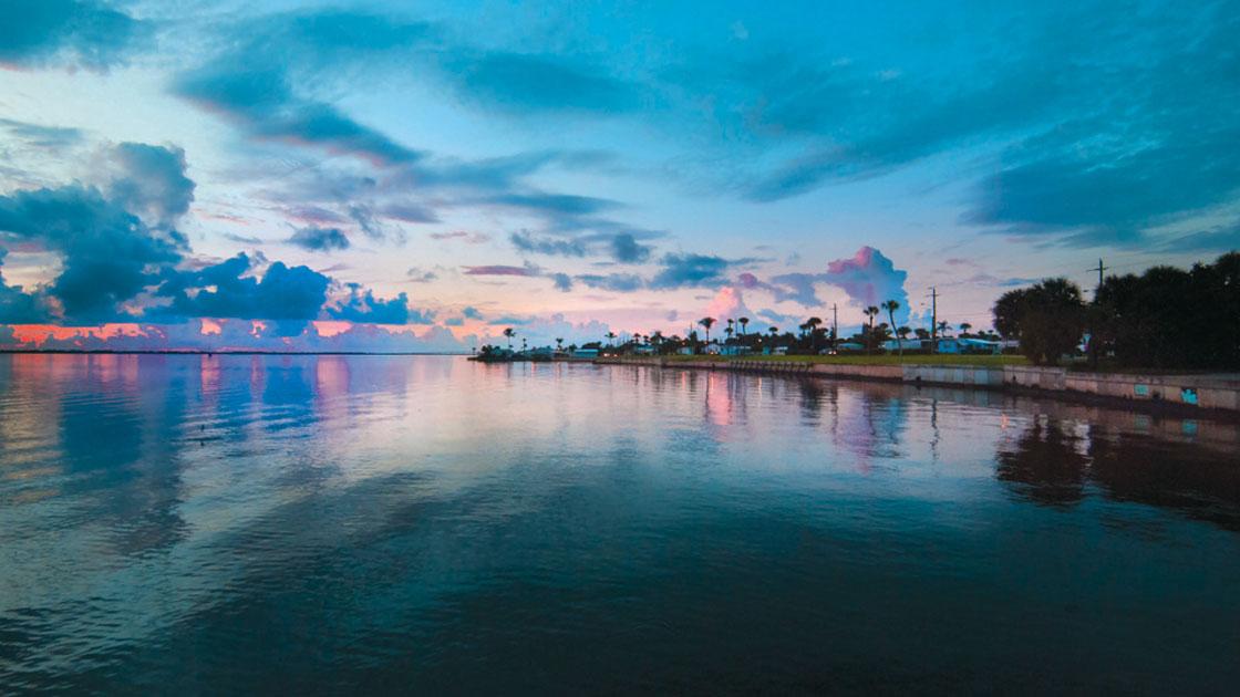 Ocean Breeze Sunset Ocean View