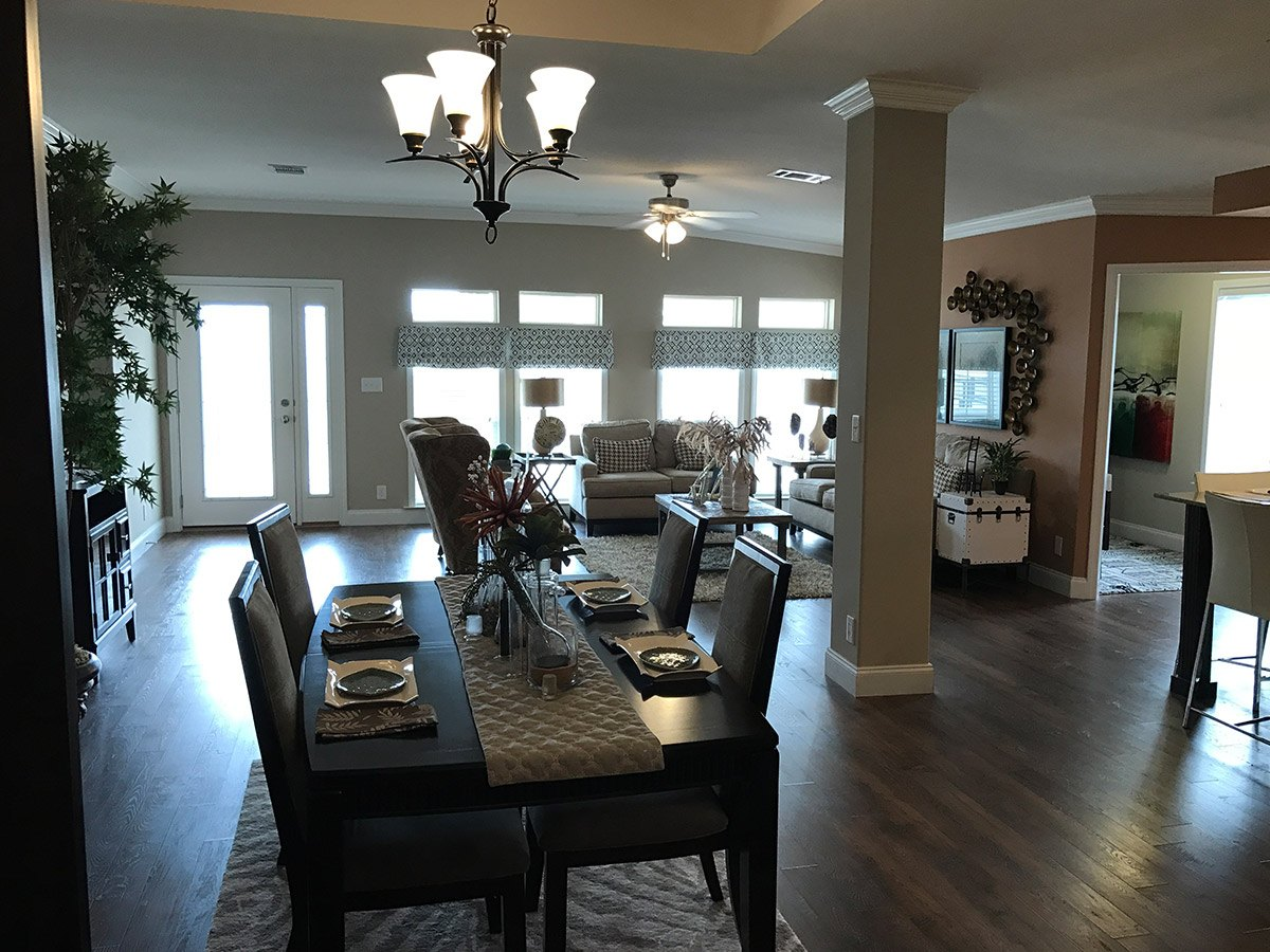 Water Oaks Home Sales Palm Harbor Labelle Model Interior View