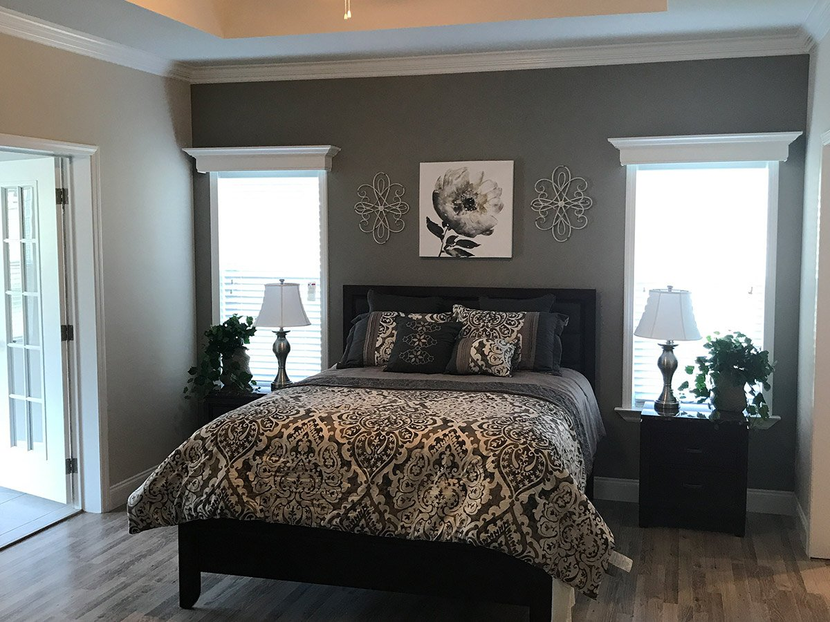 Water Oaks Home Sales Wellington Model Bedroom