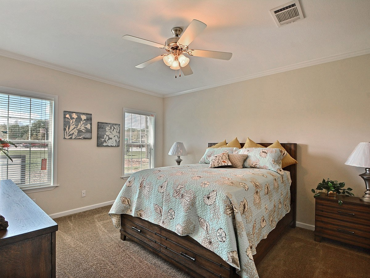 Water Oaks Home Sales Cape Coral Model Bedroom View