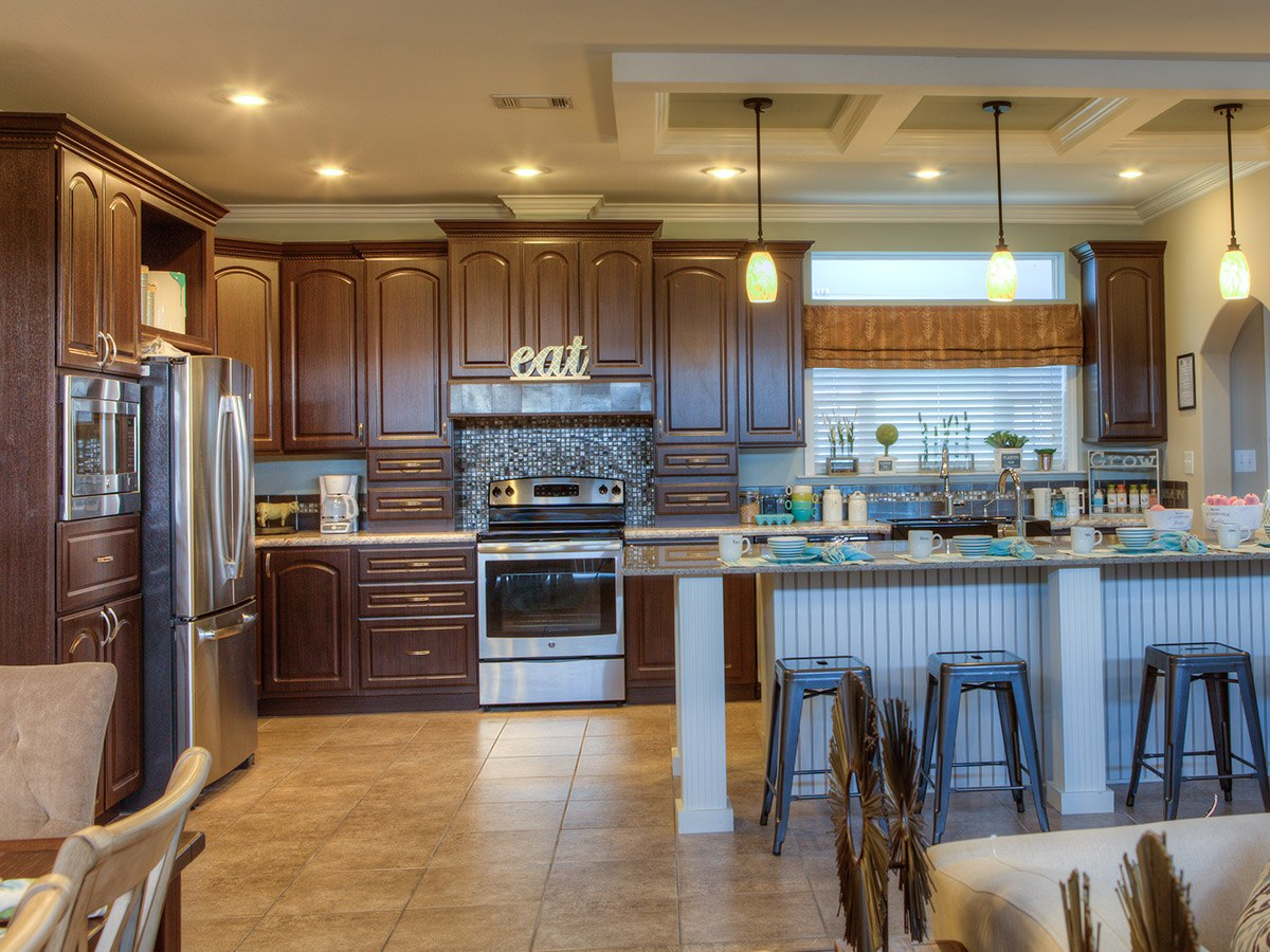 Water Oaks Home Sales Malibu Model Kitchen View