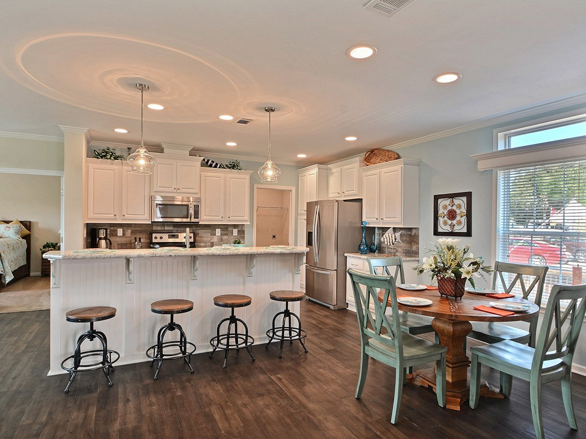 Water Oaks Home Sales Cape Coral Model Interior View