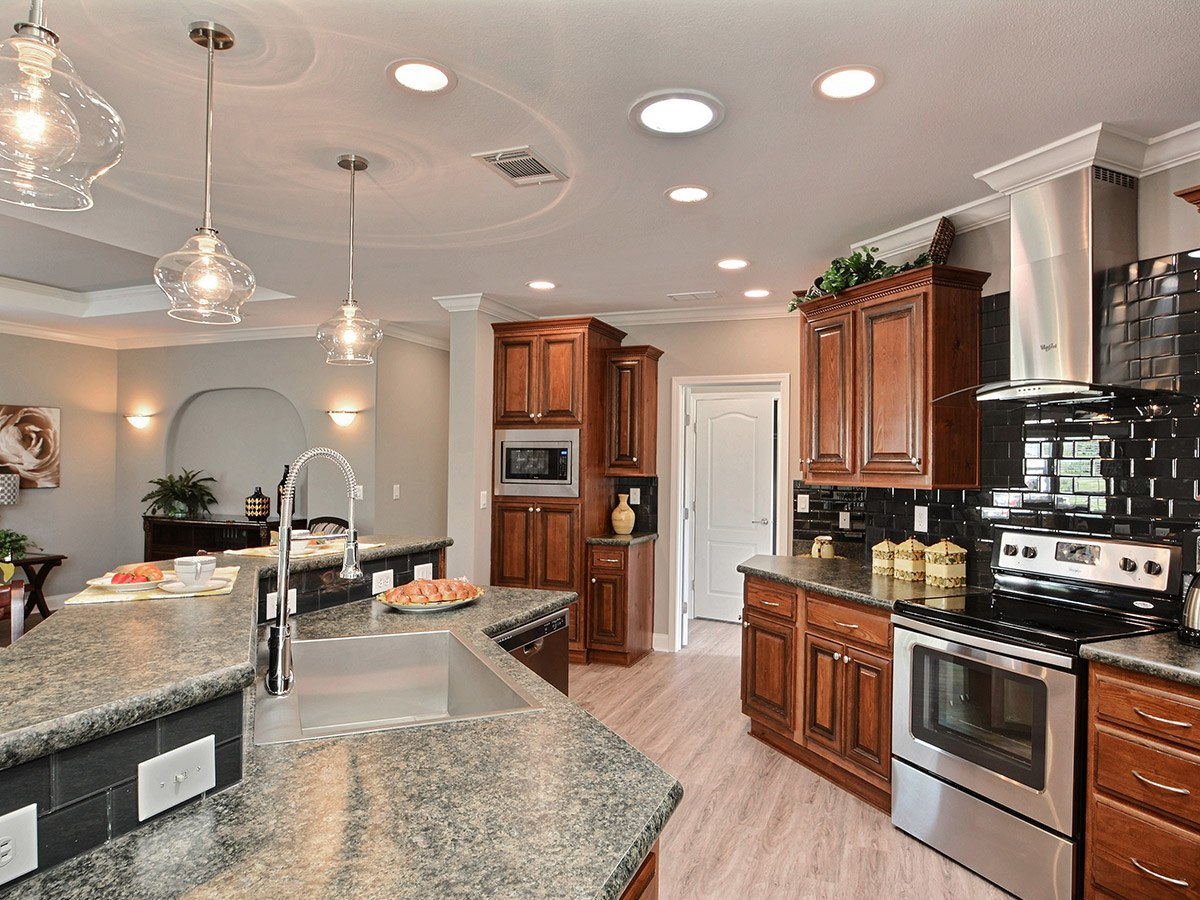 Water Oaks Home Sales Wellington Model Kitchen