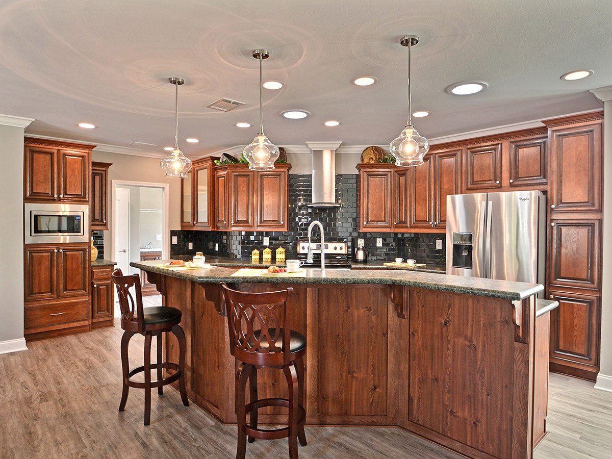 Water Oaks Home Sales Nautilus Model Kitchen View