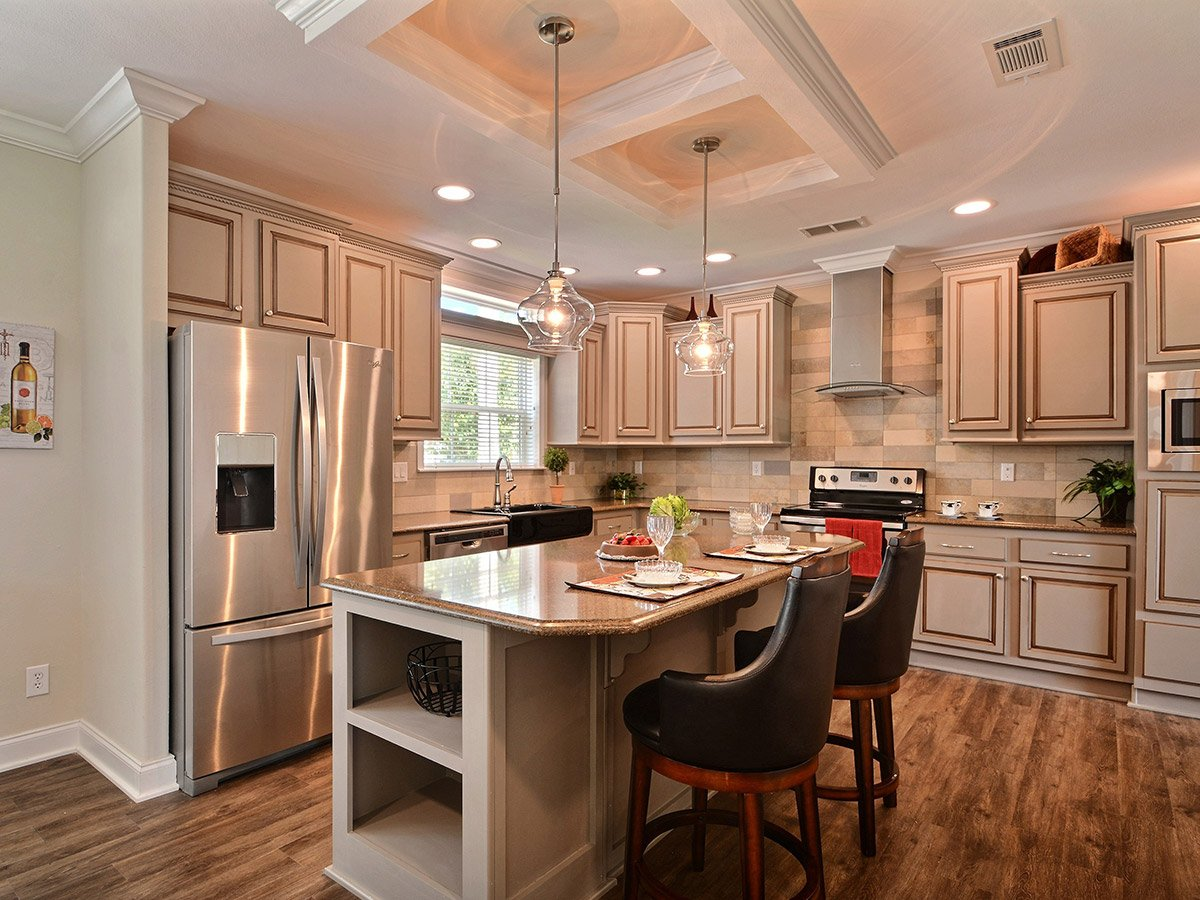 Water Oaks Home Sales Admiral Model Kitchen View