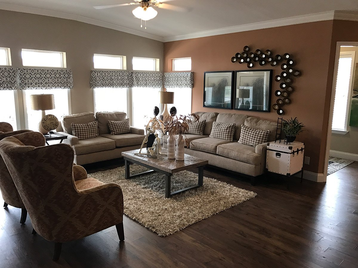 Water Oaks Home Sales Labelle Model Living Room