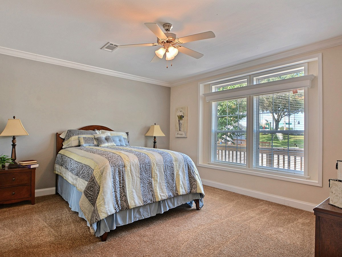 Water Oaks Home Sales Admiral Model Bedroom View
