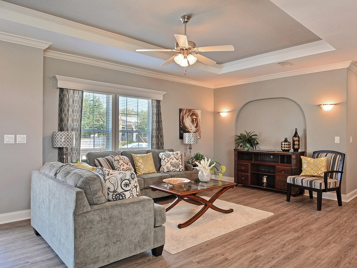 Water Oaks Home Sales Nautilus Model Interior View