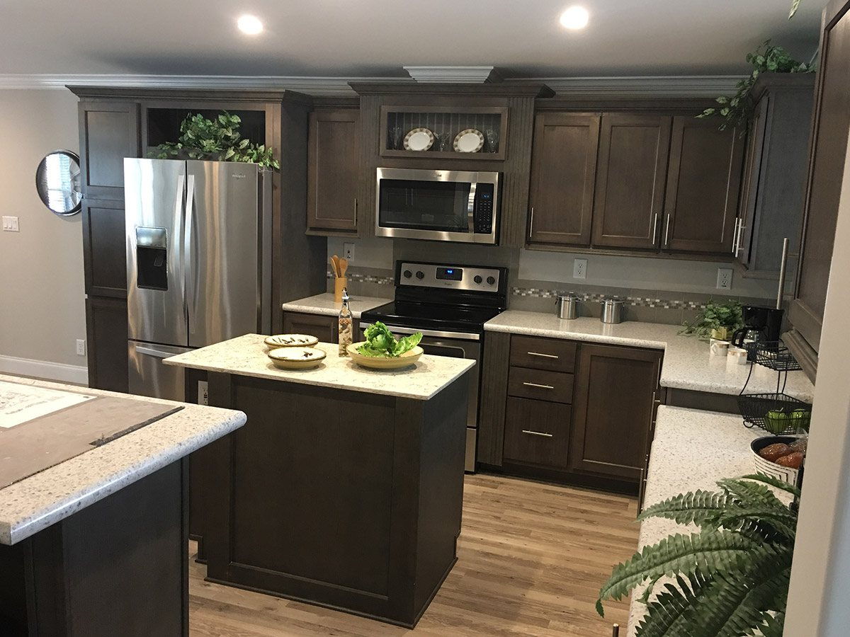 Water Oaks Home Sales Labelle Model Kitchen