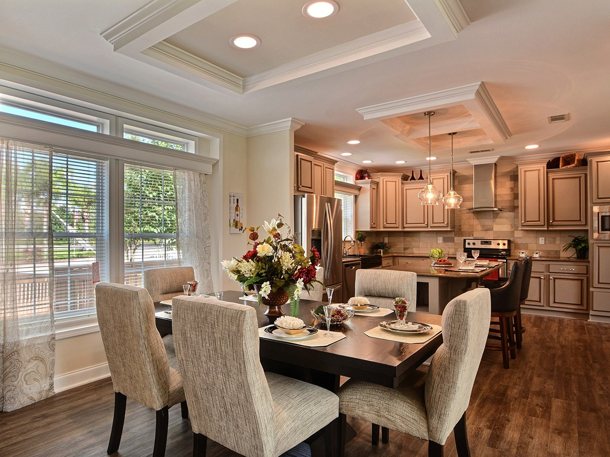 Water Oaks Home Sales Admiral Model Dinning Room View