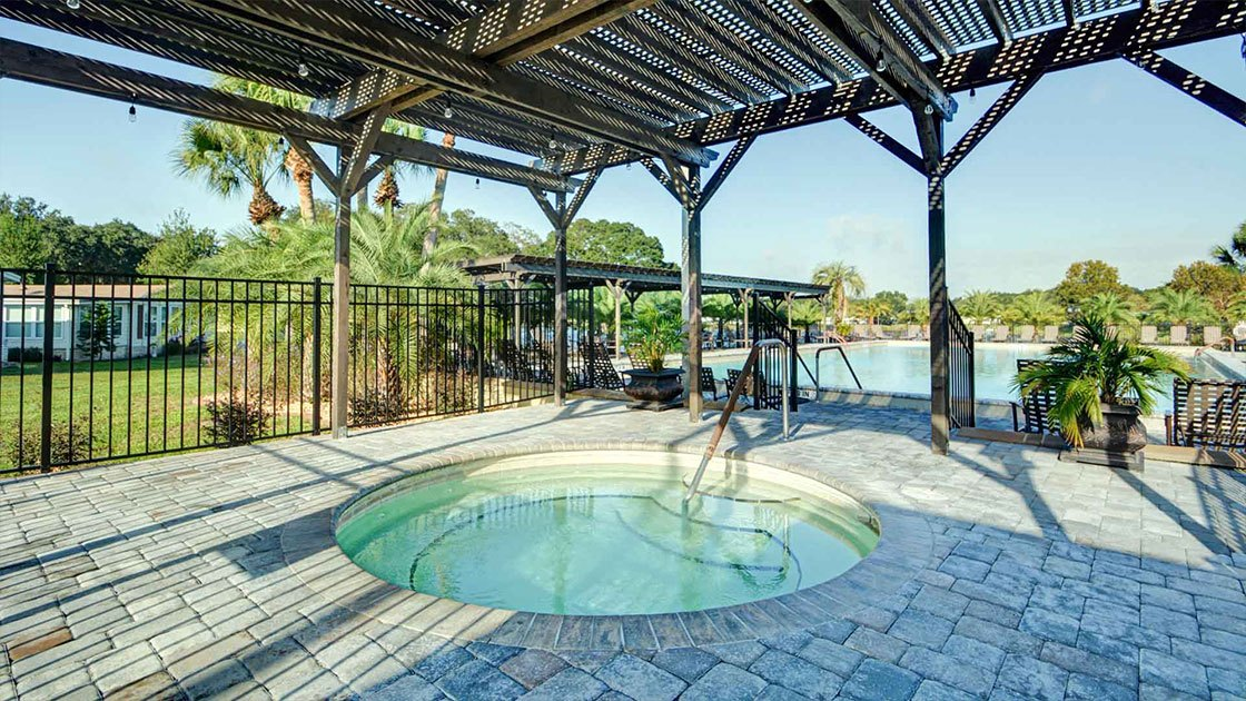 Water Oaks Home Sales Hot Tub