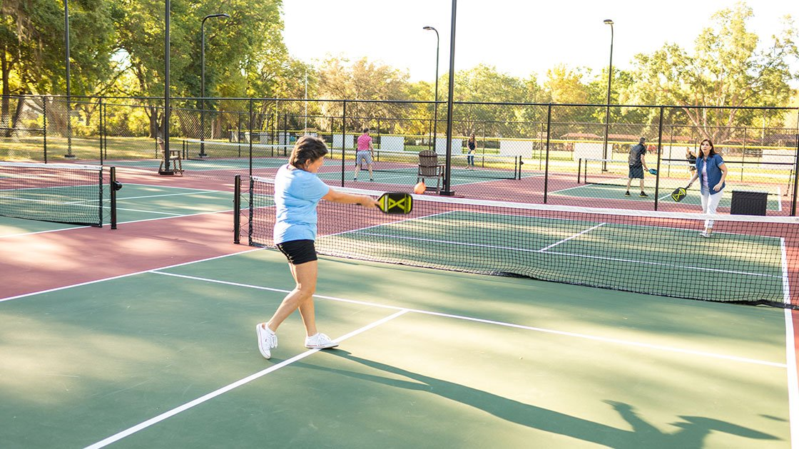 Water Oaks Home Sales Pickleball