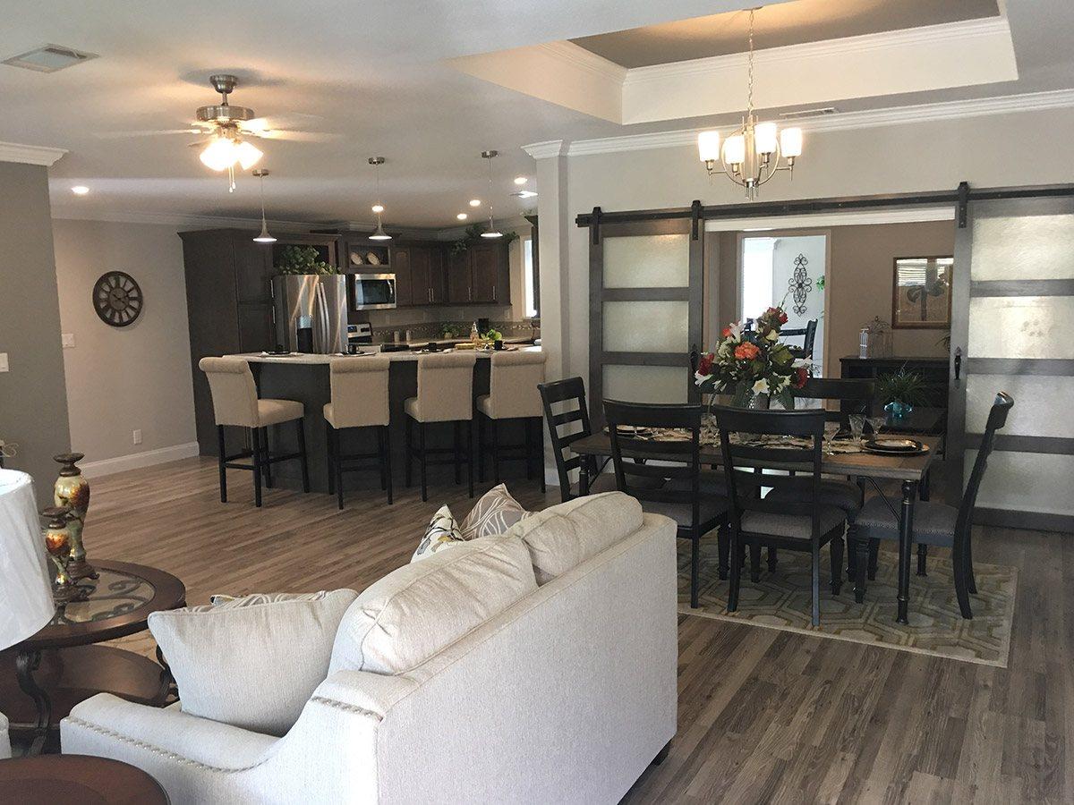 Water Oaks Home Sales Labelle Model Open Floor Plan