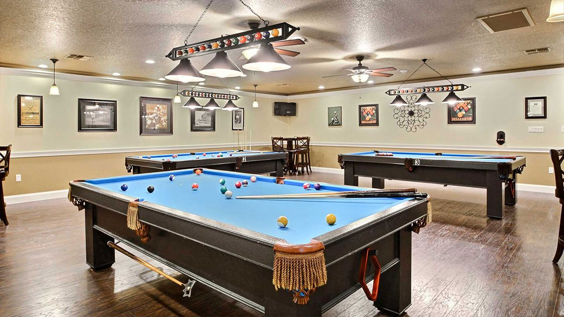 Water Oaks Billards Room