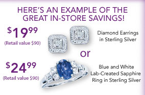 Here's an Example of the Great In-Store Savings!