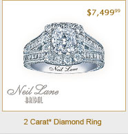 Neil Lane Bridal® 2 Carat t.w. Diamond Ring