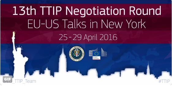 TTIP Negotiations in New York