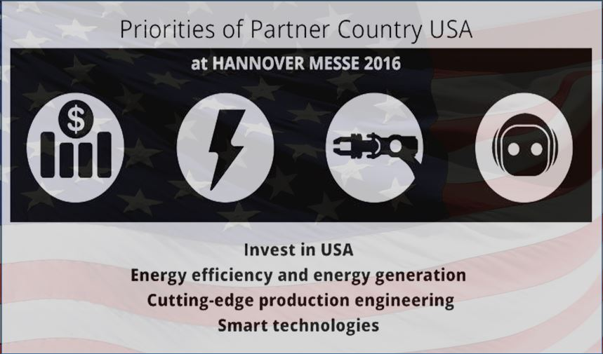 USA at Hannover Messe