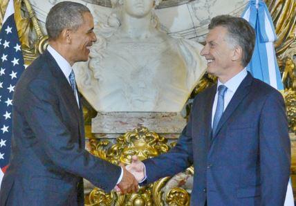 Obama and Macri