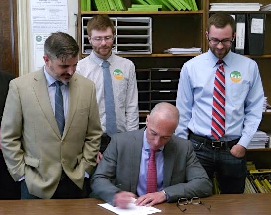 Dan Signing Filing