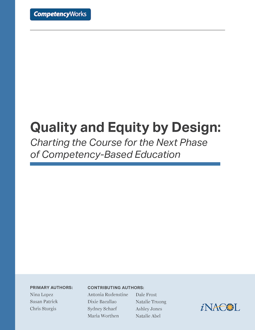 Quality and Equity Final