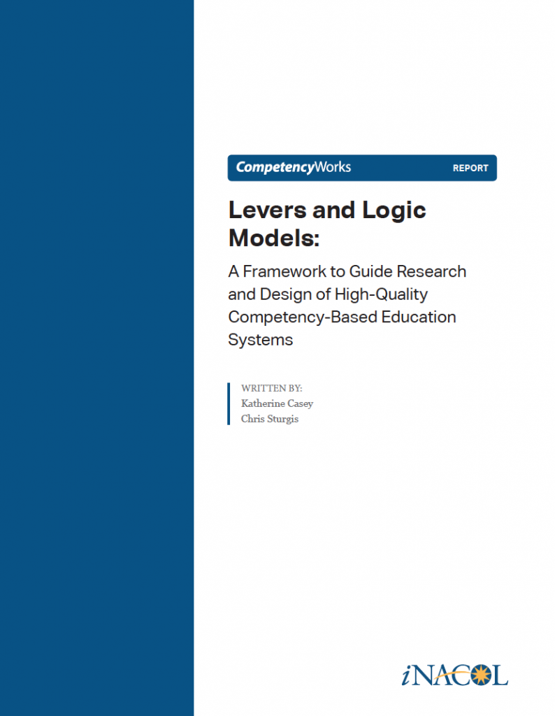 Levers and Logic Models