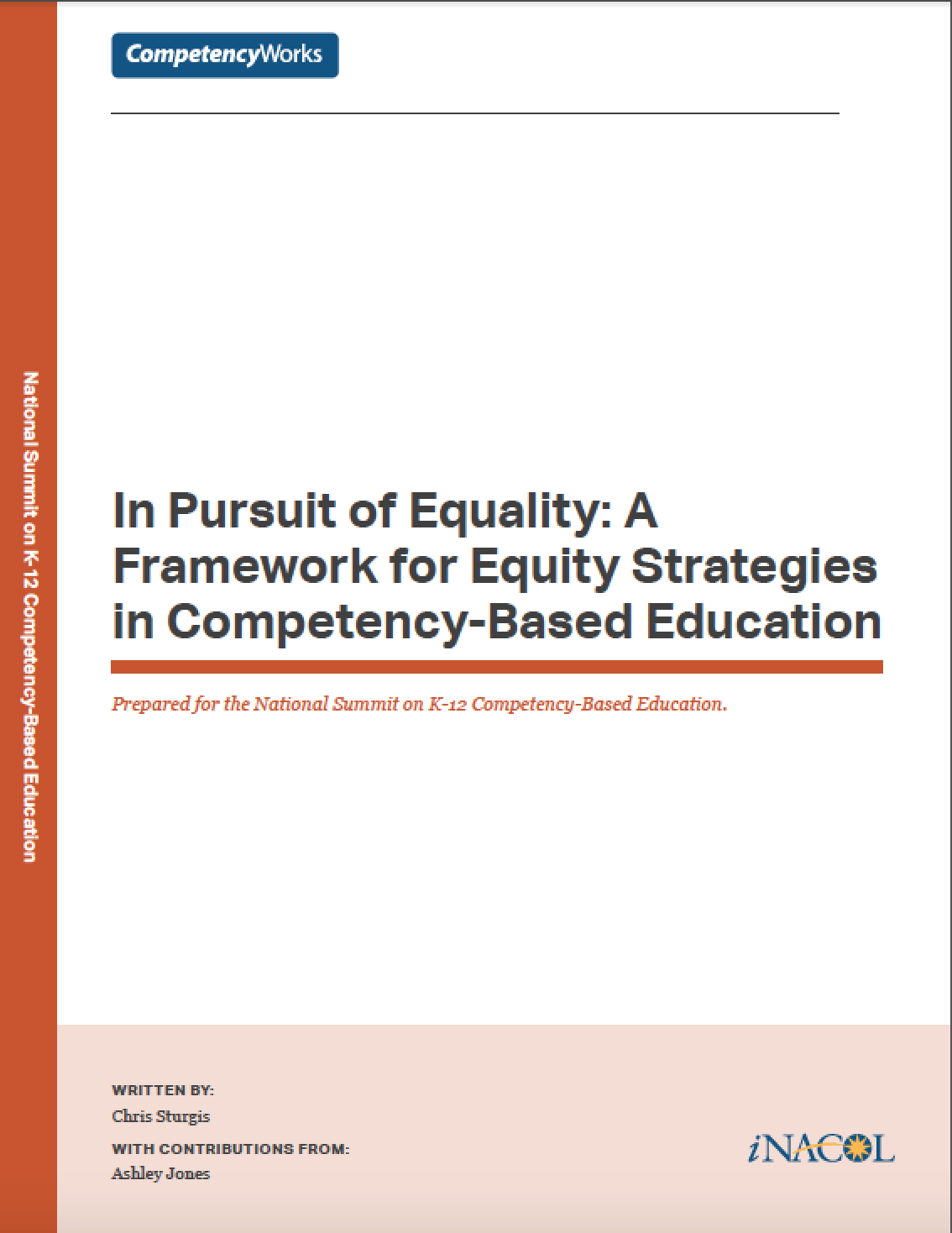 In Pursuit of Equality: A Framework for Equity Strategies in Personalized, Competency-Based Education