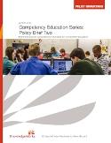 Knowledgeworks CBE Policy Brief