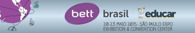 Bett Brasil Educar 2015 email banner