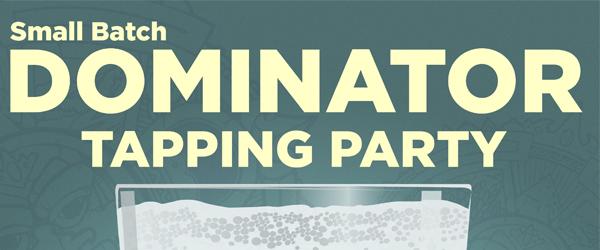 , Sun King Brewing Taps Small Batch Dominator Dopplebock!